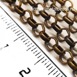 Цепочка TierraCast 20-1025-27 (oxidized brass)