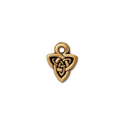 "Подвеска TierraCast 94-2103-26 (antique gold) ""Celtic Triad"""
