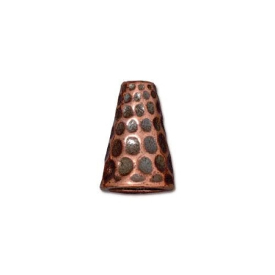 "Конус TierraCast 94-5736-18 (antique copper) ""Tall Hammertone"""