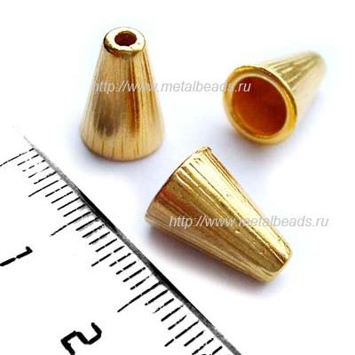 "Конус TierraCast 94-5737-25 (bright gold) ""Tall Radiant"""