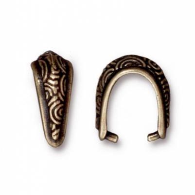 Бейл зажимной TierraCast 94-5784-27 (antique brass)