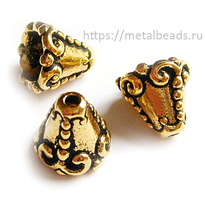 Конус TierraCast 94-5619-26 (antique gold)