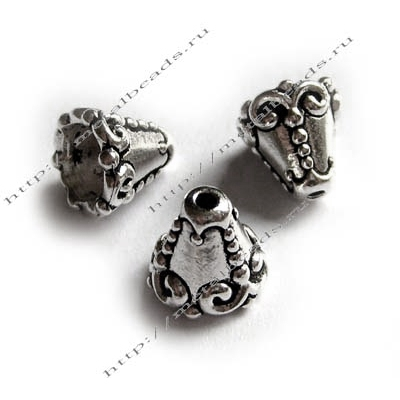 Конус TierraCast 94-5619-12 (antique silver)