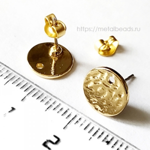 Пуссеты BG/0014 (bright gold)