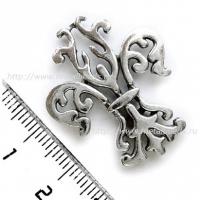 Подвеска 6703-AS односторонняя (antique silver)