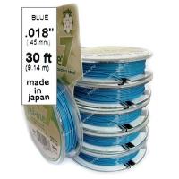 Ювелирный тросик 0,45mm BLUE (7 нитей)