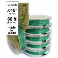 Ювелирный тросик 0,45mm GREEN (7 нитей)