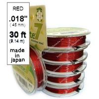 Ювелирный тросик 0,45mm RED (7 нитей)
