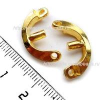 Рамка бусины 5921/BG (bright gold)