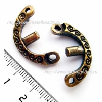 Рамка бусины 5922/AB (antique brass)